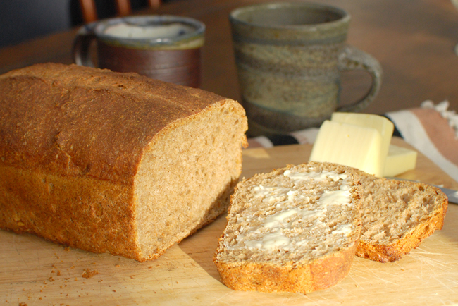 Post image for Healthy Bread in Five Minutes a Day~Whole Grain Master Recipe