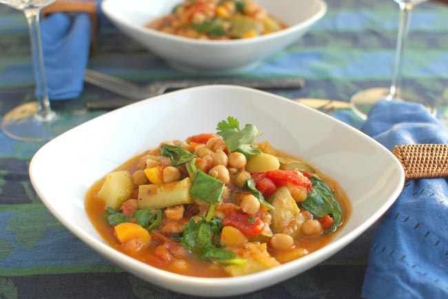 Post image for Moroccan Garbanzo Bean Stew