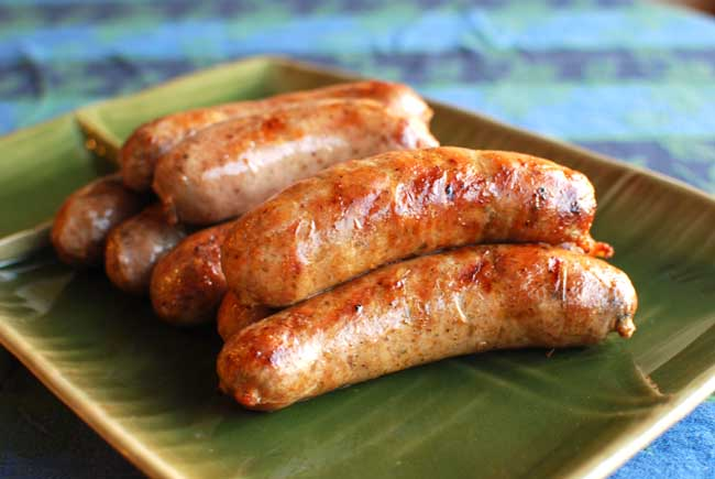 Cooked Pork Sausage