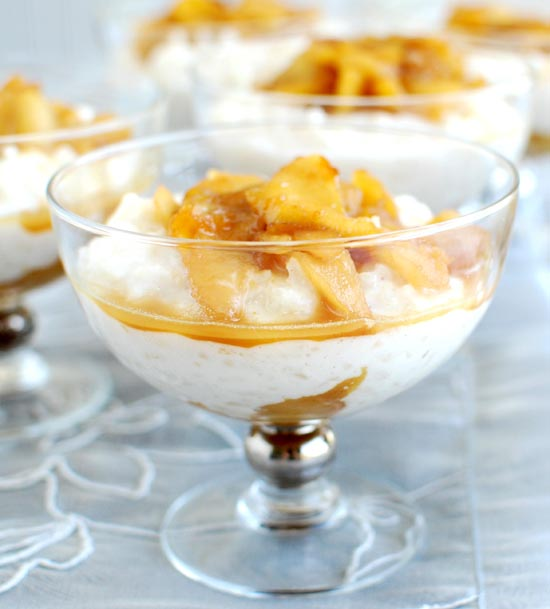 Arborio Rice Pudding with Caramelized Apples — Former Chef