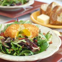 Thumbnail image for Salad Lyonnaise with Crispy Poached Egg