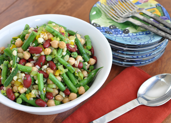 Post image for Fresh Three Bean Salad