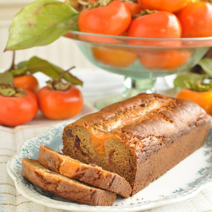 Post image for Persimmon Cranberry Bread