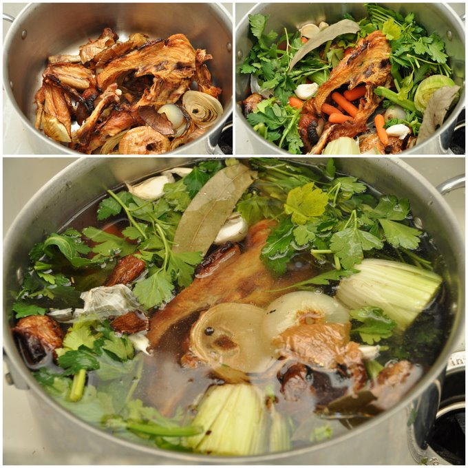 Home Made Chicken Stock — Former Chef