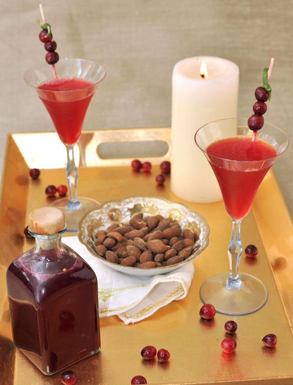 Cranberry Vanilla Cocktail