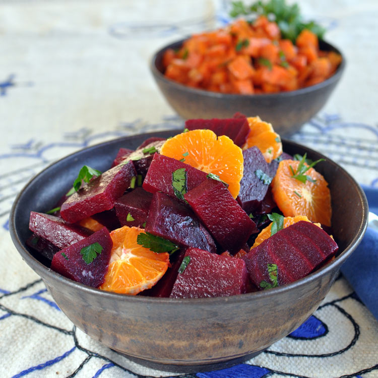 Post image for Moroccan Beet Salad with Tangerines and Cinnamon