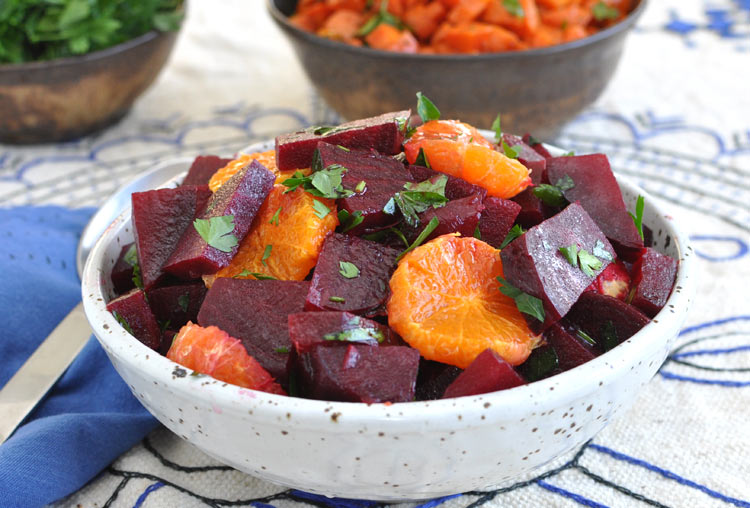 Moroccan Beet Salad with Tangerines and Cinnamon — Former Chef