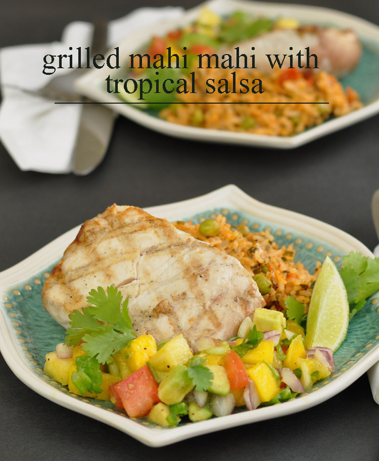 Post image for Tips for Buying and Cooking Sustainable Fish and Seafood Plus Recipe for Grilled Mahi Mahi with Tropical Salsa