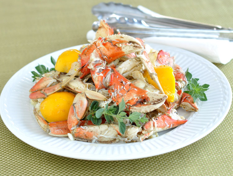 Post image for Marinated and Chilled, Cracked Dungeness Crab Legs