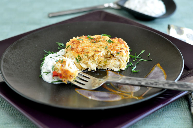 red pepper tarragon and yogurt remoulade the perfect pantry cod cakes ...