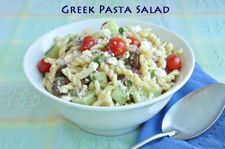 Greek Pasta Salad — Former Chef