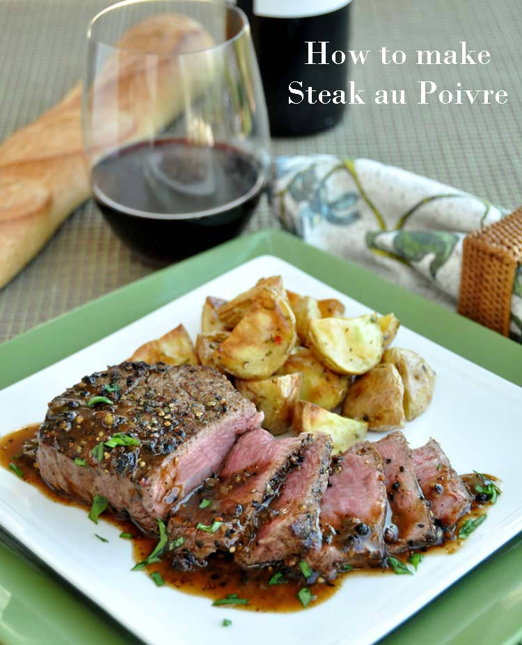 How to make Steak Au Poivre on www.formerchef.com