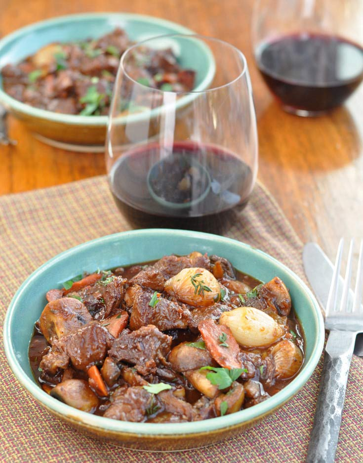 Post image for Boeuf Bourguignon (Beef Cooked in Red Wine)