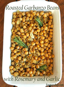 Thumbnail image for Roasted Garbanzo Beans with Rosemary and Garlic