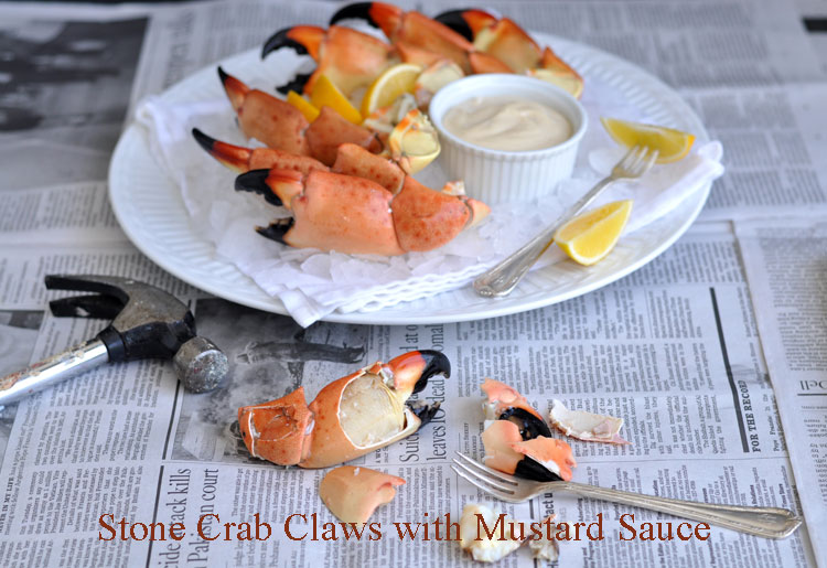 Stone Crab Claws With Mustard Sauce Former Chef